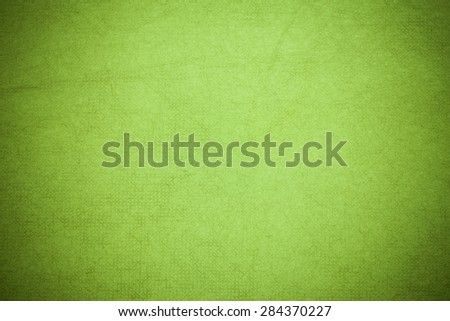 Handmade mulberry paper Green  color. - stock photo