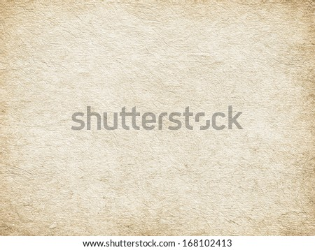 Handmade paper or canvas background - stock photo