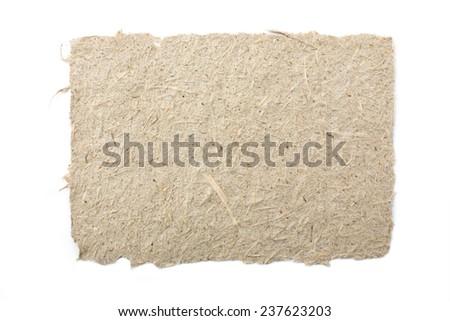 handmade paper texture background - stock photo