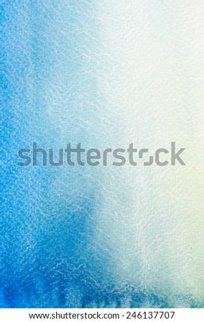handmade watercolor painting background texture - stock photo