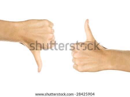 hands gesturing - stock photo
