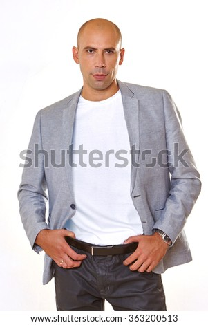 Handsome   sexy   man. - stock photo