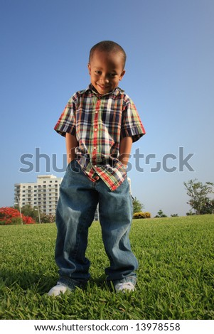 Handsome Young Model - stock photo