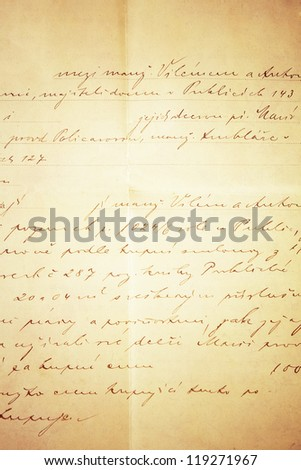 handwritten text for grunge background or backdrop - stock photo