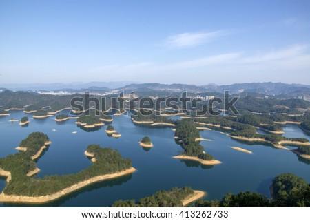 Hangzhou Qiandao Lake - stock photo