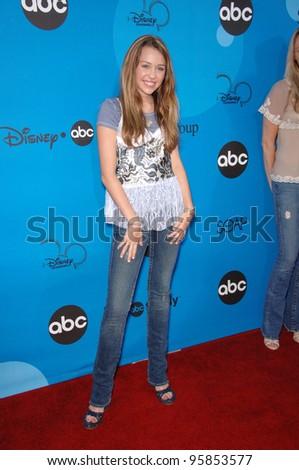 Hannah Montana star MILEY CYRUS at the Disney ABC TV All Star Party at Kidspace in Pasadena. July 19, 2006  Pasadena, CA  2006 Paul Smith / Featureflash - stock photo