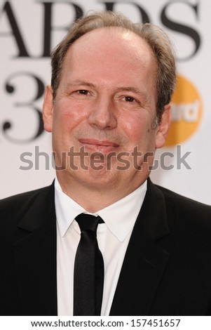 Hans Zimmer arrives for the Classic Brit Awards 2013 at the Royal Albert Hall, London. 02/10/2013 - stock photo
