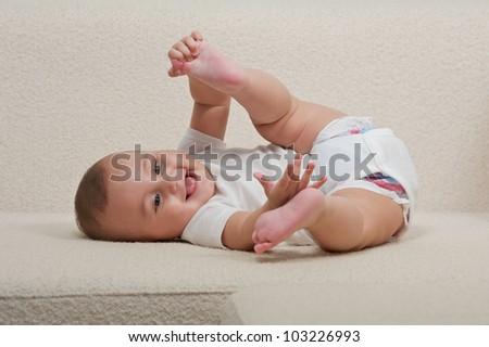 Happy Baby - stock photo