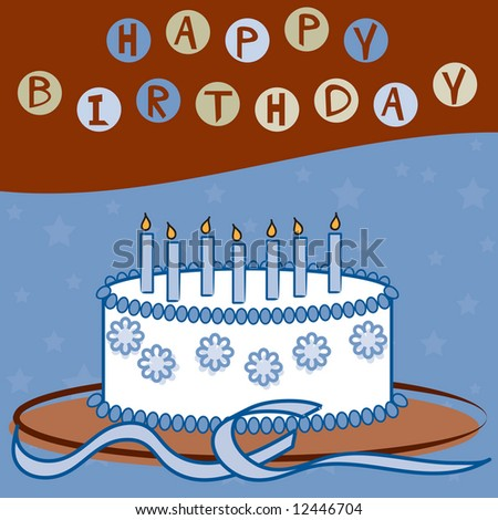 Happy Birthday (Boy) - stock photo
