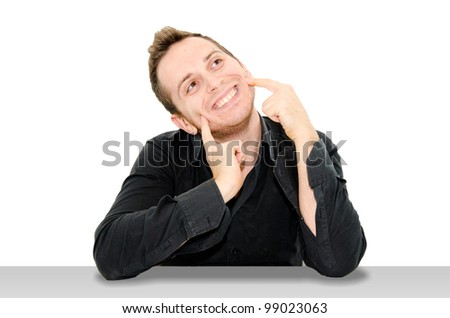 happy boy - stock photo