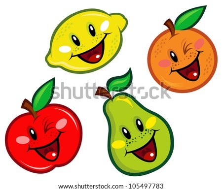 stock images similar to id 118374046   funny smiley orange