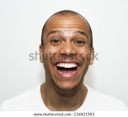Happy Man - stock photo