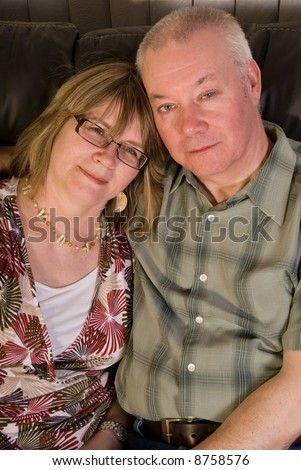Happy mature couple. - stock photo