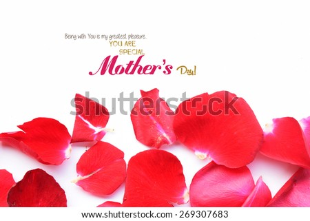 happy mothers day background - stock photo