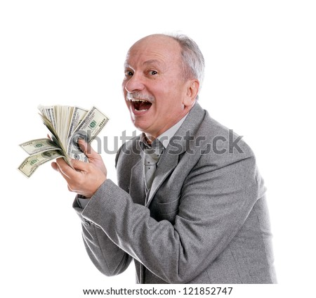 http://thumb101.shutterstock.com/display_pic_with_logo/1323004/121852747/stock-photo-happy-old-man-with-money-on-a-white-background-121852747.jpg