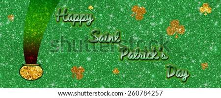 Happy Saint Patrick's Day - stock photo