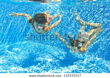 Child Underwater Stock Photos Images Pictures Shutterstock