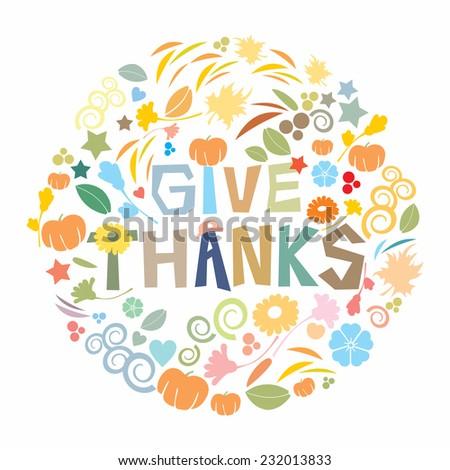 Happy Thanksgiving Day - stock photo