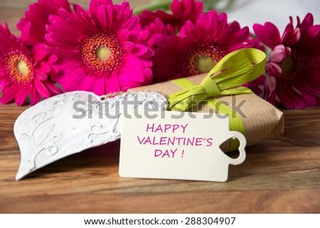 happy valentines day - stock photo