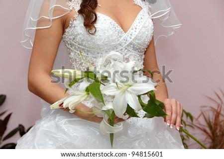 Happy wedding day - stock photo