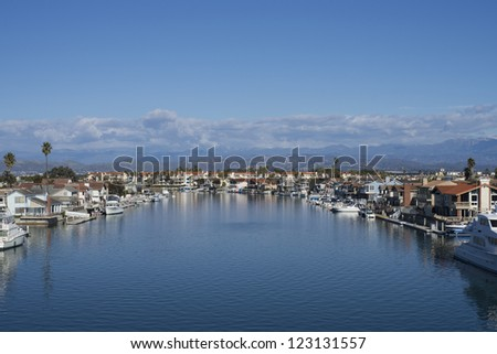 Harbor - stock photo