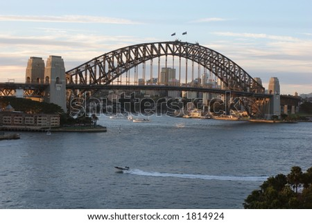 Harbour Bridge, Sydney - stock photo