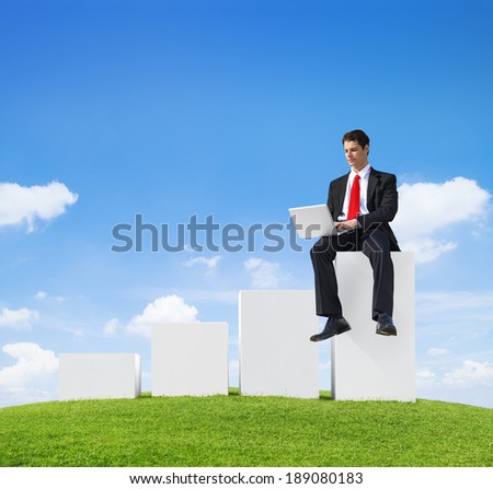 Hard at Work - stock photo