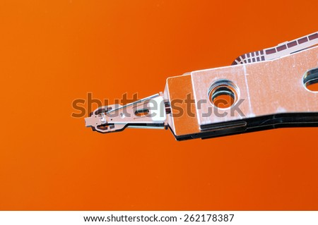 Hard disk Drive Macro - stock photo