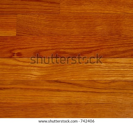 Hardwood Floor planks background - stock photo