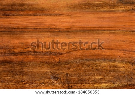 Hardwood from indian rain-forest, used for furniture construction. - stock photo