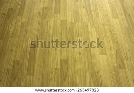 Hardwood maple basketball court floor viewed from above Popular - stock photo