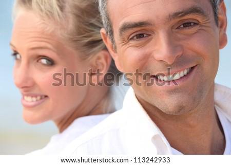 Harmonious couple - stock photo
