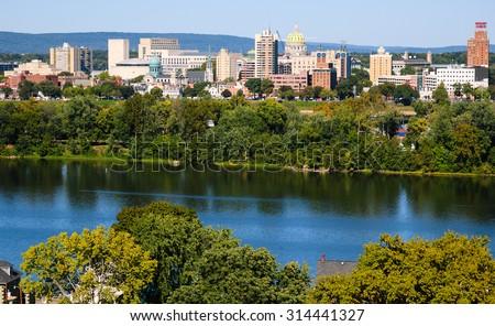 Harrisburg - stock photo