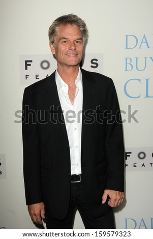 "Harry Hamlin at the ""Dallas Buyers Club"" Los Angeles Premiere, Academy of Motion Picture Arts and Sciences, Beverly Hills, CA 10-17-13 - stock photo"