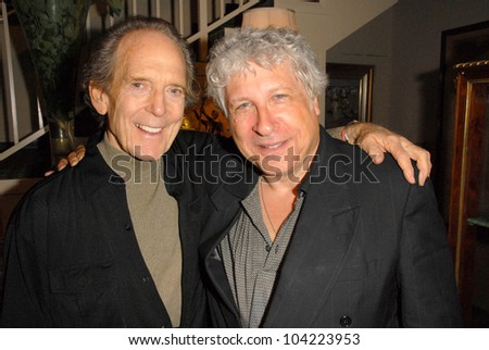 """Harry Langdon and Smokey Miles at Julie Newmar ~A Life in Motion"""" at the David  W. Streets Gallery, Beverly Hills, CA. 11-08-09 EXCLUSIVE - stock photo"""