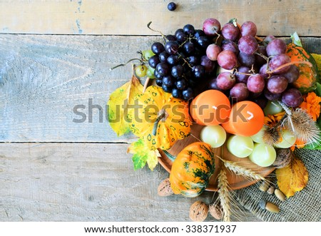 harvest season,farm products - stock photo