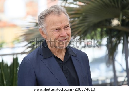 Harvey Keitel attends the 'Youth' Photocall during the 68th annual Cannes Film Festival on May 20, 2015 in Cannes, France. - stock photo