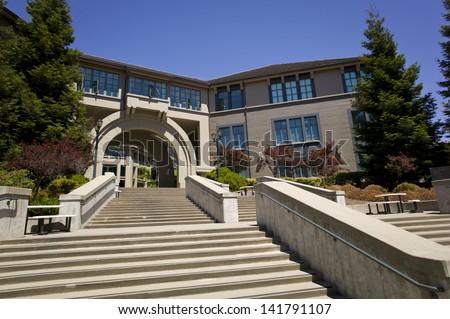 Hass School of Business, UC Berkeley - stock photo