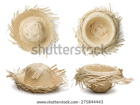 Hat for June Festival - stock photo