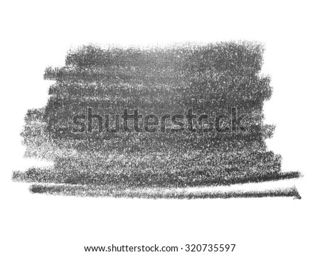 hatching grunge graphite pencil background and texture isolated on white background, design element - stock photo
