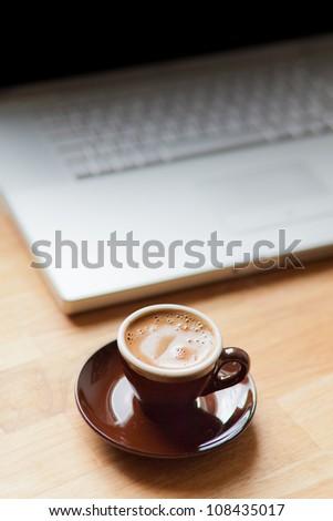 Having a coffee break - stock photo