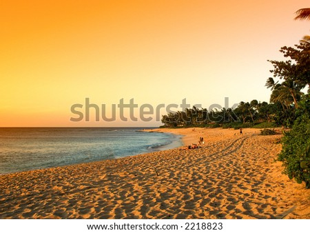 Hawaii - Oahu - stock photo
