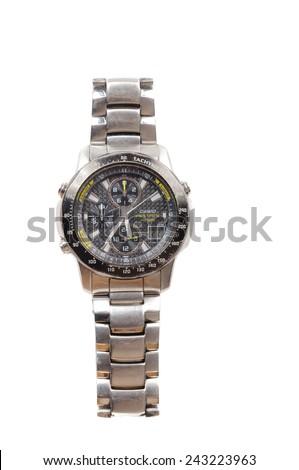 Hayward, CA - September 22, 2014: Casio, Pulsar Wristwatch, fob watch - stock photo