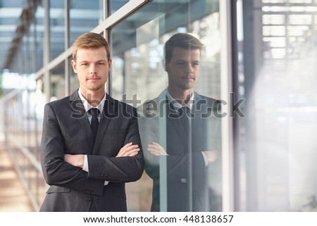 He's got the talent to succeed in business - stock photo