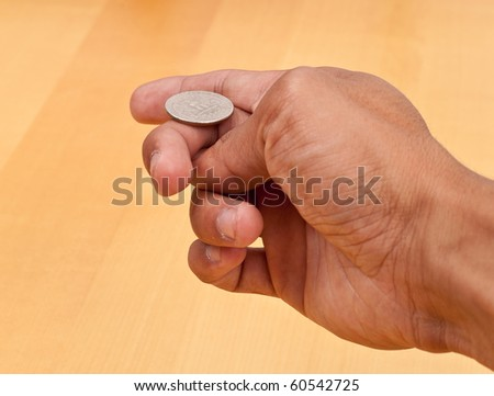 Heads or Tails Chance Concept - stock photo