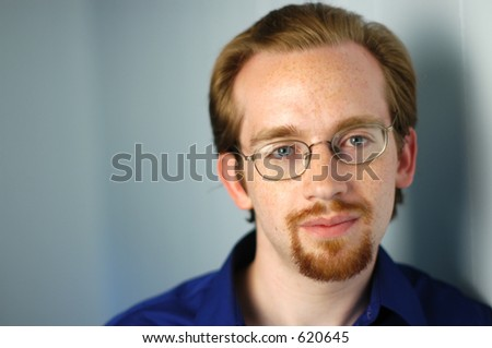 headshot - stock photo