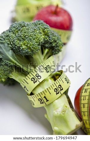 Health and Nutrician - stock photo