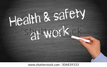 Health and Safety at Work - stock photo
