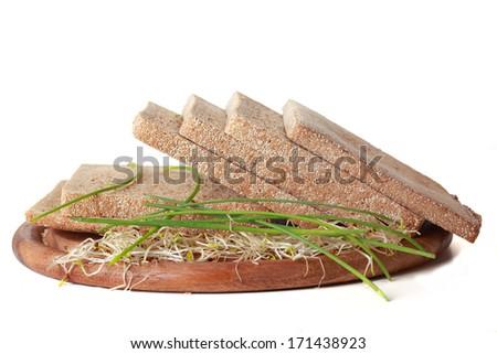 health bread - stock photo