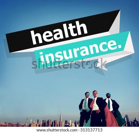 Health Insurance Protection Risk Assessment Assurance Concept - stock photo